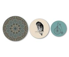 35 euro Decoratieve wandprints Maya, 3-delig