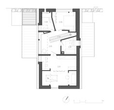 Image 22 of 26 from gallery of House / CUBE. 2nd Floor, Cube, Floor Plans, Flooring, How To Plan, Gallery, Art, Home, Art Background