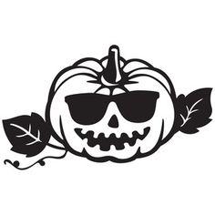 Silhouette Design Store: cool pumpkin