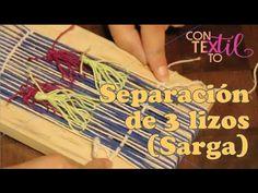 Youtube, Pasta Piedra, Margarita, Weaving Techniques, Textiles Techniques, Projects, Manualidades, Weaving, Margaritas