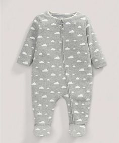Cloud Zip All-in-One - All Unisex - Mamas & Papas