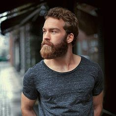 Curly hairs, soulful wise eyes and a beard. What more could you want in such a beautiful face?