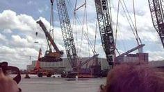 Liebherr crane demonstration