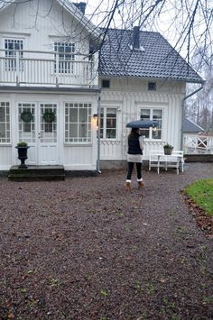 Ideas for exterior scandinavian swedish cottage Swedish Farmhouse, Swedish Cottage, Swedish Decor, Swedish Style, Swedish House, Swedish Design, Farmhouse Design, Farmhouse Style, Farmhouse Decor