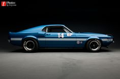 Ford Mustang 1969 GT 350