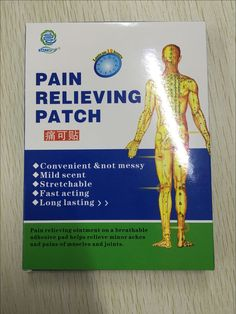 Hot sell high quality of pain relieving patch, if you need, we can send some free samples to you.