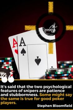 There are some similarities between sniper and Poker Cupcakes, Poker Cake, Poker How To Play, Poker Quotes, Some Might Say, Be Patience, Poker Party, Cakes For Men, Poker Chips