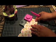 3D Flower Box Card with the WRMK Flower Punch Board - YouTube More & We R Flower Punch Board Wreath* - Scrapbook.com- homemade paper ... pillowsntoast.com