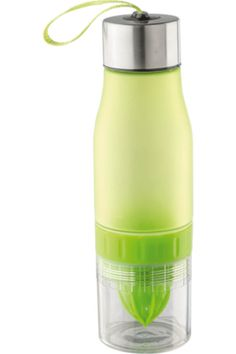 The Fruit Juicer Water Bottle has a neat compartment located in the bottom half of the bottle specially for juicing different types of fruits, it also has a wrist strap for travel convenience. Juice Bottles, Water Bottles, Corporate Giveaways, Fruit Juicer, Types Of Fruit, Nutrition Diet, Juicing, Health, Fitness