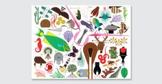 (AMMO Books) Celebrated designer Todd Oldham opens another treasure trove of unseen and unpublished illustrations in the new AMMO Books release, CHARLEY HARPER'S ANIMAL KINGDOM.