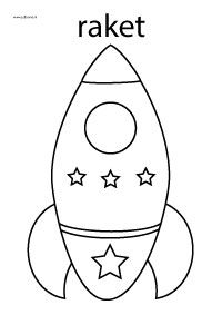 Rocket coloring page Space Solar System, Solar System Projects, Summer Camp Crafts, Camping Crafts, Space Party, Space Theme, Art Drawings For Kids, Drawing For Kids, Micro Creche