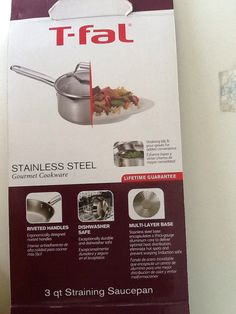 T fal stainless steel