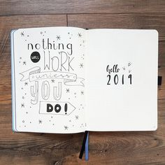 Make 2019 the most productive year! Here you can find my bullet journal setup for new year #anjahome #bulletjournal #setup #2019