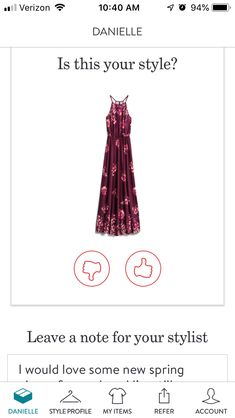 I would love to have this dress! Cute Fashion, Fashion Clothes, Fashion Outfits, Stitch Fix Maxi, September Stitch Fix, Red High Heels, Classy And Fabulous, Maxi Dresses, Your Style