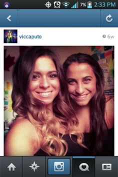 Victoria caputo aka long island medium, theresa caputo's daughter. Love the ombre