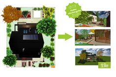 Heather garden. Make your own project: http://mygreenspace.pl/en