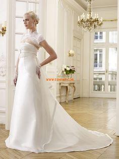 Church Elegant & Luxurious Zipper Wedding Dresses 2014