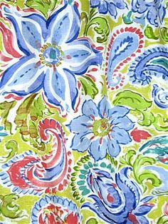 Mystic Citron - curtain fabric by the yard Mediterranean Style, Curtain Fabric, Mystic, Print Patterns, Fabrics, Yard, Wallpapers, Sewing, Colors