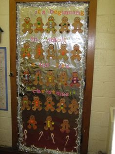 I love the gingerbread :) Yep, that will be on my classroom door