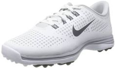 These calssy looking womens lunar empress wide golf shoes by Nike feature dynamic flywire support and integrated rubber traction