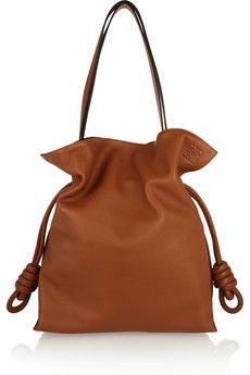 Loewe Flamenco Knot large leather shoulder bag | NET-A-PORTER