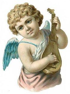 Cards Scrapbooking and Art: Vintage Angel & fairies (33)