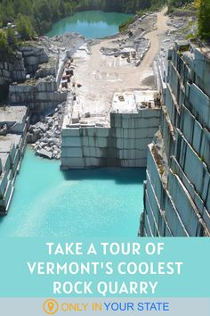Explore and tour a unique granite quarry in Vermont! The Rock of ages is absolutely beautiful and worth adding to your travel bucket list. Rock Of Ages, The Rock, Best Bucket List, Hidden Beach, Swimming Holes, Summer Travel, Day Trip, Vermont, State Parks