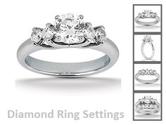We've listed the different types of settings to consider when mounting your diamond. The Prong Setting, The Bezel Setting, The Channel Setting, The Invisible Setting, The Cluster Setting, The Paver Setting, The Flat Top or Bead Setting, The Gypsy Setting.See more at :- http://www.landljewelry.com/