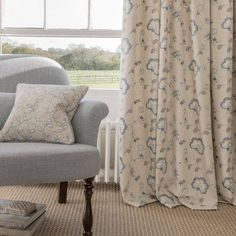 Manor House This classical collection features a mix of embroidered patterns on linen, woven checks and jacquards with complementing linen plains. The chalky palette used in the nine designs includes shades of sand, acacia, chambray and duck egg.