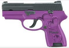 purple handguns - I LOVE PURPLE | Guns | Pinterest