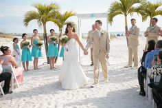 Wedding at Grand Plaza, St Pete Beach, shot by Tampa Photographer Neil with…