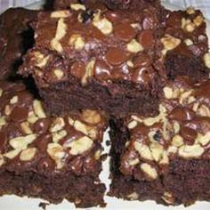 Tired of using the mix for bread?why not make brownies