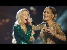 Rita Ora and Louisa Johnson sing And I am Telling   The X Factor UK 2015 - http://maxblog.com/9086/rita-ora-and-louisa-johnson-sing-and-i-am-telling-the-x-factor-uk-2015/
