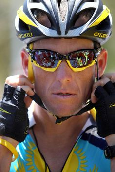 For being a true sporting icon and reminding us all that though giving up is easy trying hard and fighting back is well worth the effort... Salute Lance