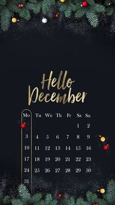"""Hello December Wallpaper Christmas - Iphone and Android. Iphone Wallpaper Winter, December Wallpaper Iphone, Christmas Phone Wallpaper, Holiday Wallpaper, Wallpaper Backgrounds, Wallpaper Desktop, Bow Wallpaper, Phone Backgrounds, Iphone Wallpapers"