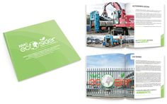 #Brochure NMC Ecosider #Graphic #Design #Paper #Avellino #Irpinia #Italy