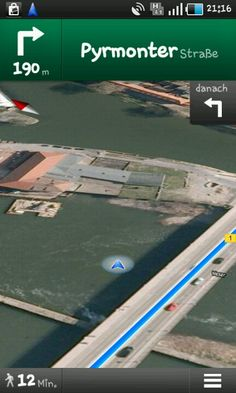 Ich kann laut GPS übers Wasser gehen. Wer kann das schon von sich sagen? :)