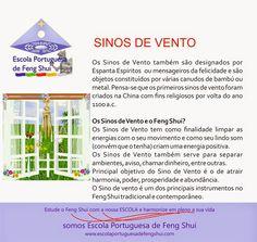 Escola Portuguesa de Feng Shui: SINOS DE VENTO                                                                                                                                                                                 Mais