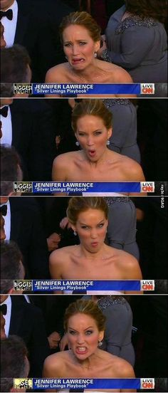 This is one of the reasons why I'm Jennifer Lawrence.