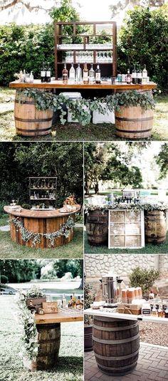 Drink Bar, Bar Drinks, Beverages, Drink Table, Fall Wedding Drinks, Drink Station Wedding, Spring Wedding, August Wedding, Perfect Wedding