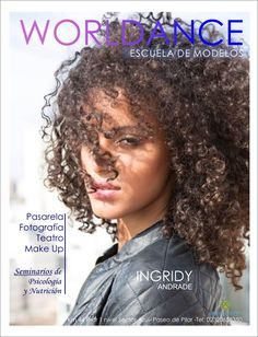 Folder para Escola de Modelos Worldance by Ingridy Andrade - Argentina