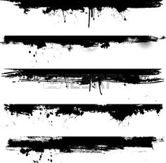 Detailed dirt elements ideal for use as borders Free v . - Detailed grunge elements ideal for use as borders Free vector - Brush Tattoo, Tattoo Band, Black Band Tattoo, Tattoo Bracelet, Tattoos Motive, Muster Tattoos, Element Tattoo, Tattoo Trash, Trash Polka Tattoo