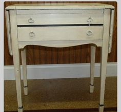 A darling darling silver chest painted with Annie Sloan Chalk Paint.