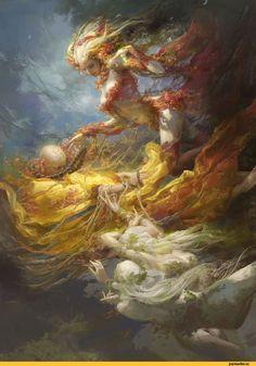 FenghuaArt,fantasy art,art,арт,красивые картинки