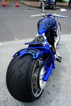 custom chopper- love it