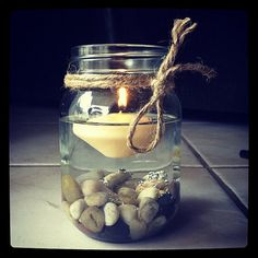 Rustic Floating Candles for Marta by nidification on Etsy, $ 120.00