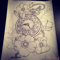 alice in wonderland tattoo sketches - Google Search