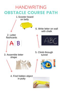 Visual Motor Activities, Fine Motor Activities For Kids, Learning English For Kids, Learning Spanish, Kids Obstacle Course, Occupational Therapy Activities, Handwriting Activities, School Ot, Improve Handwriting