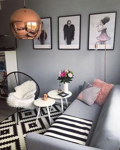 Auch Im Wohnzimmer Dürfen Elegante Deko Accessoires Nicht Fehlen! Modern  Und Minimalistisch Bereichert Die