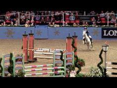 ▶ jack whitaker pony show jumping Olympia 2013 - YouTube